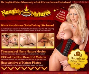 Welcome to Naughty Matures