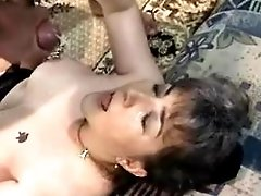 Mature fucks in prison and gets cum