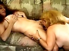 Mom gets fingering and does blowjob
