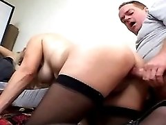 Midget gets cum after fuck outdoor