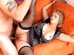Hot milf has sex in all poses