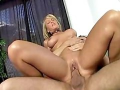 Blonde milf gets titsfuck and fucks