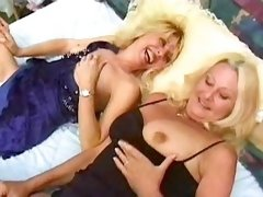 Blonde milf fucks and gets creampie