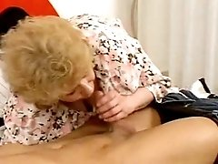 Hungry mature fucks and gets facial