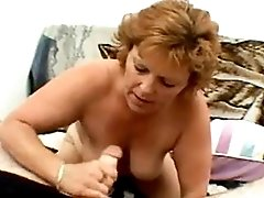 Tattooed mature fucks n gets facial