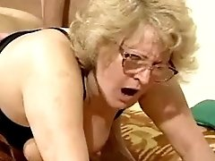 Mom gets facial from big black cock