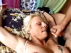 Cute chubby milf fucks in all poses