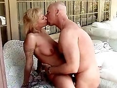 Busty maure gets fuck in all poses
